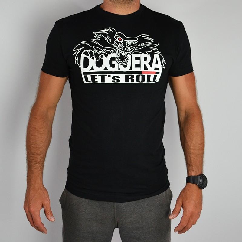 Tee shirt JJB Doguera Lets Roll Noir