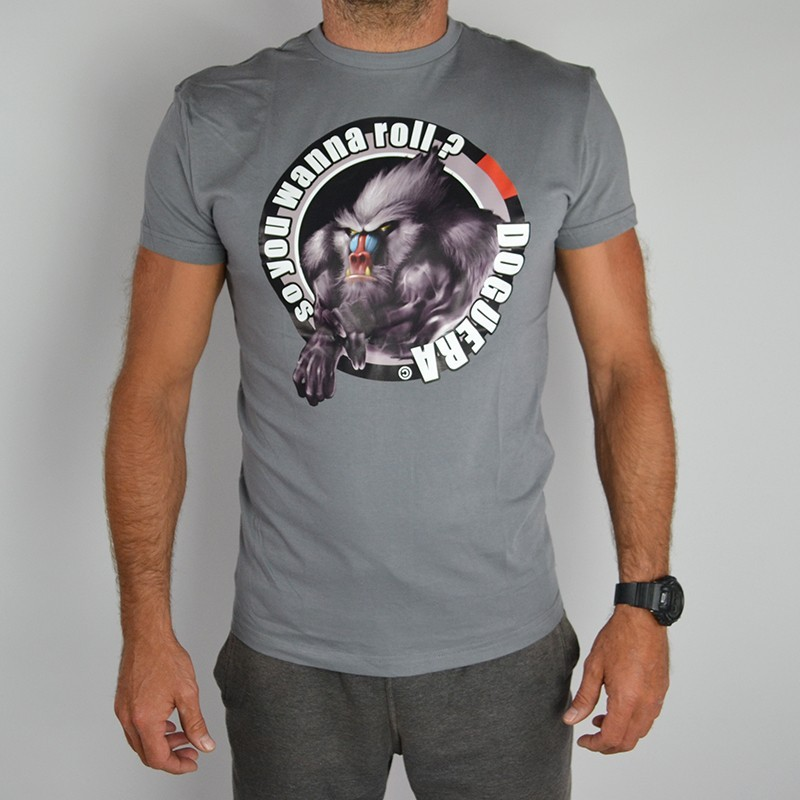 T-shirt de JJB Doguera So you wanna roll gris