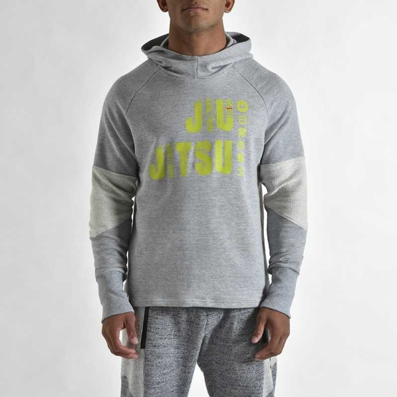 SWEAT CAPUCHE JJB GR1PS GRIS