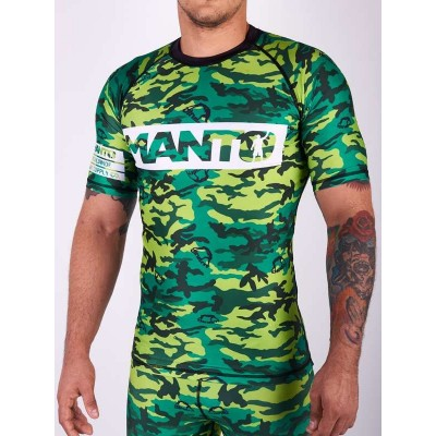 RASHGUARD GRAPPLING MANTO CAMO