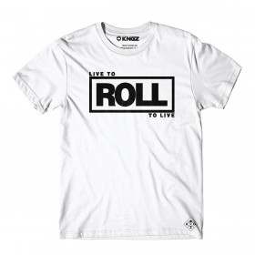 Tee Shirt JJB Kingz Roll To Live Blanc