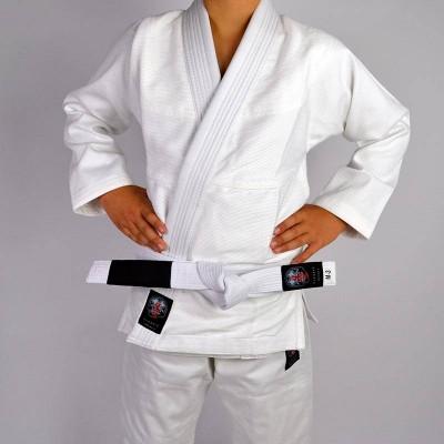 Kimono de JJB enfant 4Leaf Clover Classic V2 Blanc