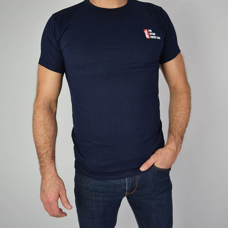 TEE SHIRT ATHL. EVERY DAY NAVY