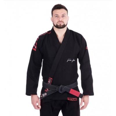 Kimono JJB Tatami Fightwear red Bar Noir