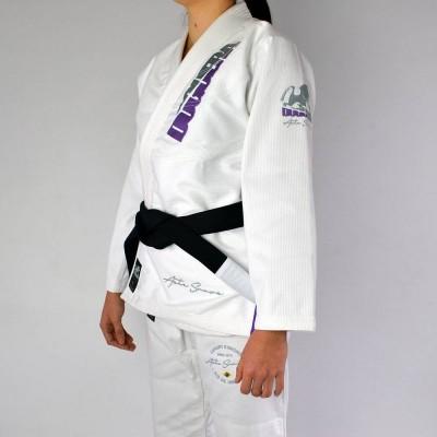 Kimono de JJB Femme Doguera Arte Suave 2.0 Blanc