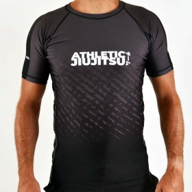 RASHGUARD ATHLETIC IBJJF NOIR