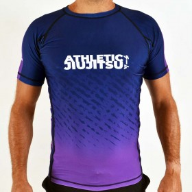 RASHGUARD ATHLETIC IBJJF VIOLET