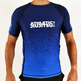 RASHGUARD ATHLETIC IBJJF BLEU